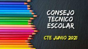 Guía CTE 8a sesión junio 2021 en PDF. Consejo Técnico Escolar