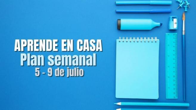 Aprende en Casa: Plan de trabajo semana 41 del 5 al 9 de julio