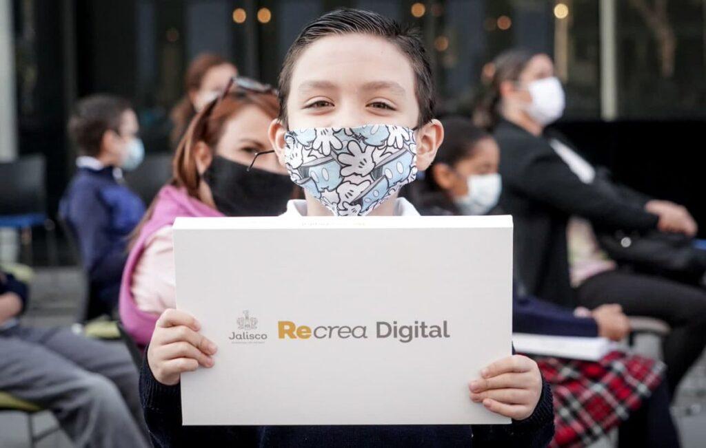 Recrea Digital Jalisco. Productos vigentes en regreso a clases 2021-2022