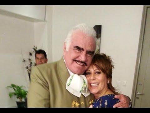 Vicente Fernández. Alejandra Guzmán, el amor imposible de 'El Potrillo'