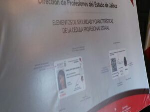Cédula profesional en Jalisco
